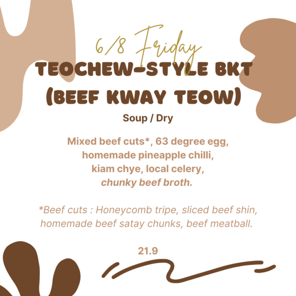Teochew Style BKT